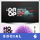 Electronic Music Party 03 - Facebook Event Cover Templates - GraphicRiver Item for Sale