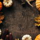 Autumn background with festive decoration - PhotoDune Item for Sale