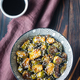 Bowl of roasted teriyaki brussels - PhotoDune Item for Sale