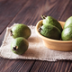 Bowl of feijoa fruits - PhotoDune Item for Sale