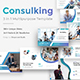 3 in 1 Consulking Pitch Deck Bundle Google Slide Template - GraphicRiver Item for Sale