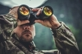 Army Soldier with Binoculars - PhotoDune Item for Sale