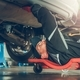 Car Mechanic Under the Car - PhotoDune Item for Sale