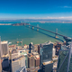 Aerial cityscape view of San Francisco-Oakland Bay Bridge - PhotoDune Item for Sale