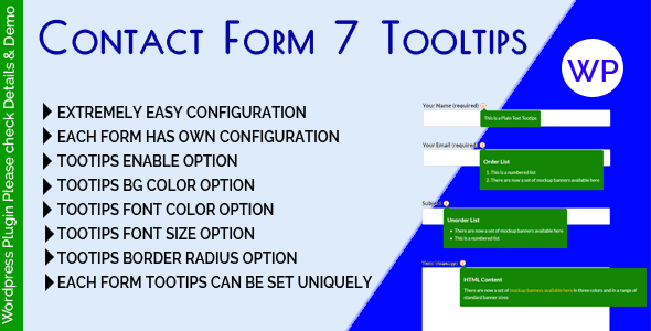 Contact Form 7 Tooltips Free Download   Nulled