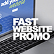 Fast Website Promo - VideoHive Item for Sale