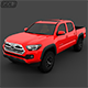 Toyota Tacoma 2016 - 3DOcean Item for Sale