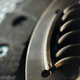Car clutch on a metal surface - PhotoDune Item for Sale