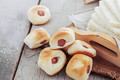 Filled bread on wooden - PhotoDune Item for Sale
