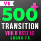 FCPX 500+ Transitions, Light Leaks, Color Presets, Sound FX - VideoHive Item for Sale