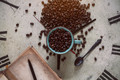 Beans on antique clocks - PhotoDune Item for Sale