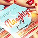 Naughty Party Flyer - GraphicRiver Item for Sale