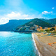 Minori town in Amalfi coast, beach view. Italy - PhotoDune Item for Sale