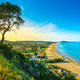 Vieste and Pizzomunno beach view, Gargano, Apulia, Italy. - PhotoDune Item for Sale