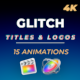FCPX Glitch Titles and Logos - VideoHive Item for Sale