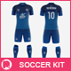 Men's Full Soccer Team Kit Mockup V1 - GraphicRiver Item for Sale