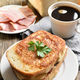 Toast sandwich with cheese and coffee - PhotoDune Item for Sale