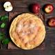 Apple pie, top view - PhotoDune Item for Sale