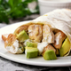 Wrap sandwich with chicken and avocado - PhotoDune Item for Sale