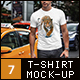 T-Shirt Mock-Up Casual Style - GraphicRiver Item for Sale