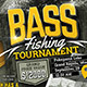 Bass Fishing Tournament Fly-Graphicriver中文最全的素材分享平台