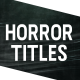 Horror Titles - VideoHive Item for Sale