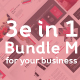 Bundle 3 in 1 M Google Slide - GraphicRiver Item for Sale