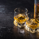Whiskey with ice in glasses and bottle - PhotoDune Item for Sale
