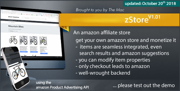 zStore - an amazon affiliate Store            Nulled