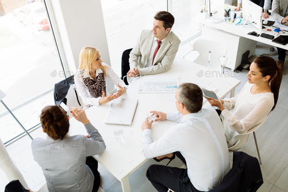 Business people meeting - Stock Photo - Images