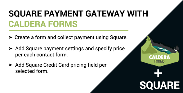Square payment gateway with Caldera Forms Free Download | Nulled