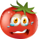 Crying Tomato - GraphicRiver Item for Sale