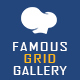 Free Download Famous - Responsive Image & Video Grid Gallery for WPBakery Page Builder (formerly Visual Composer) Nulled