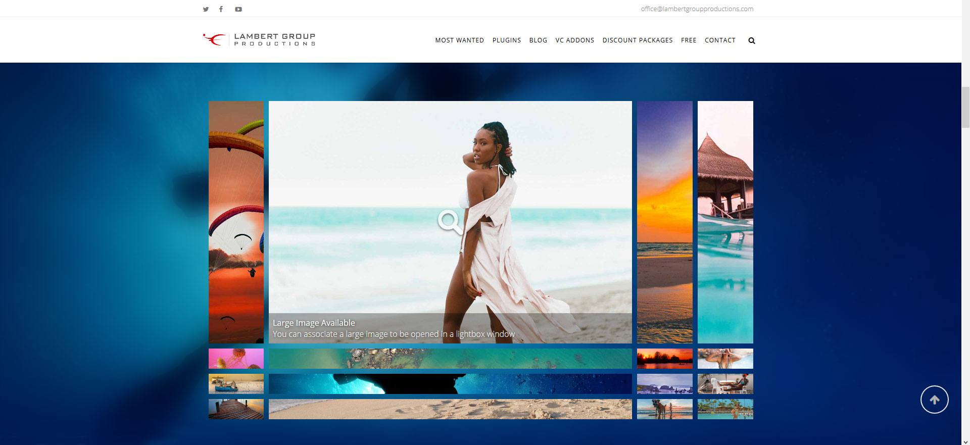 Famous - Responsive Image & Video Grid Gallery for WPBakery Page Builder (formerly Visual Composer) - Grid Fixed Width and Centered