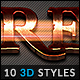10 3D Styles vol. 15 - GraphicRiver Item for Sale