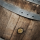 Details of an oak wooden barrel in a winery - PhotoDune Item for Sale