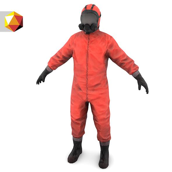 """Bio suit """" Hazmat worker """""""