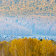 beautiful villages in the forest in autumn, xinjiang, China - PhotoDune Item for Sale