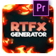 RTFX Generator for Premiere - VideoHive Item for Sale