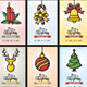 Christmas Card / Invitation Set - GraphicRiver Item for Sale