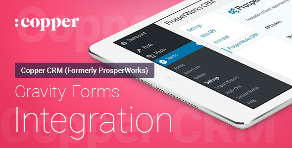 Gravity Forms – ProsperWorks CRM – Integration