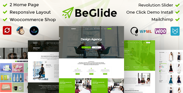 BeGlide: Corporate Agency WordPress Theme