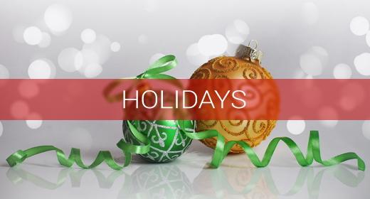 MOOD > Holidays