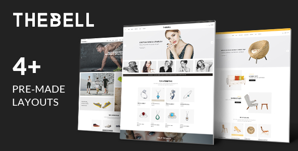 TheBell - Multipurpose eCommerce Bootstrap 4 Template Free Download | Nulled