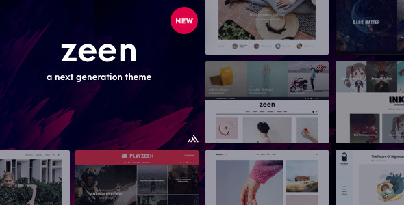 Zeen | Next Generation Magazine WordPress Theme - News / Editorial Blog / Magazine
