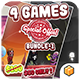Mega Bundle 4 Games Part 1 (Android Studio+BBDOC+Assets) - CodeCanyon Item for Sale