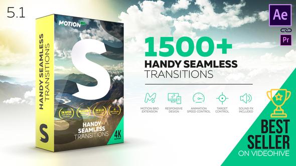 Siêu nóng - Videohive - Transitions V5.1 - 18967340 + Licence - Free download