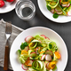 Vegetable salad from zucchini, radish, greens - PhotoDune Item for Sale