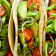 Tacos with meat and vegetables - PhotoDune Item for Sale