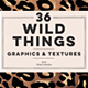 36 Wild Things Golden Animal Patterns - GraphicRiver Item for Sale